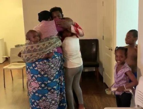 Video: Amani Reunited With His Family
